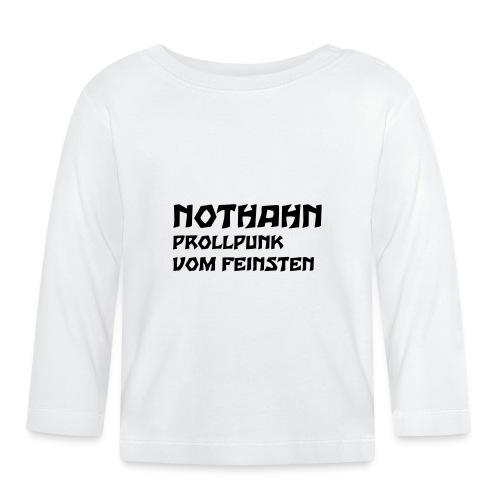 vorne - Baby Langarmshirt