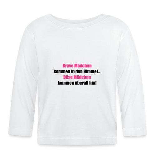 Brave Mädchen - Baby Langarmshirt