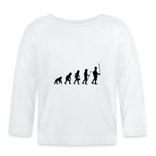 Stabführer Evolution - Baby Langarmshirt
