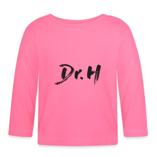 Casquette blanche Dr. H - T-shirt manches longues Bébé