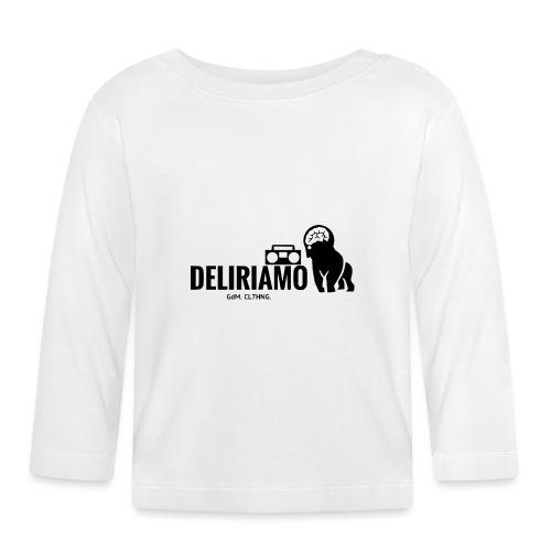 DELIRIAMO CLOTHING (GdM01) - Maglietta a manica lunga per bambini