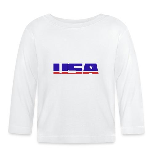 usa - Baby Long Sleeve T-Shirt