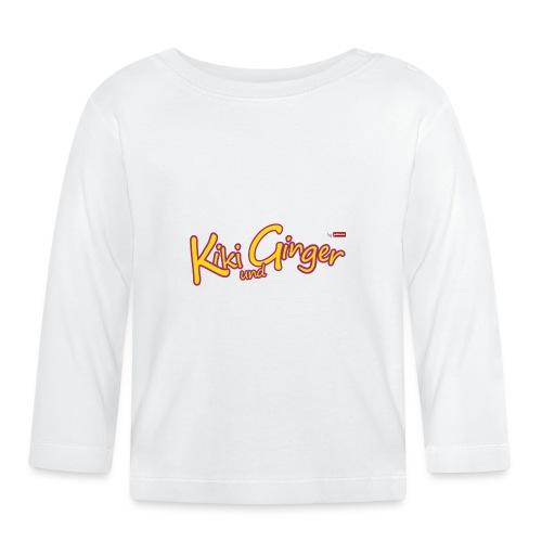 patame Kiki und Ginger Logo - Baby Langarmshirt