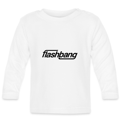FlashBang Énkel - Utan Donation - Långärmad T-shirt baby