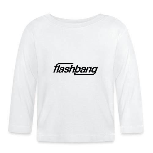 FlashBang Enkel - 50kr Donation - Långärmad T-shirt baby