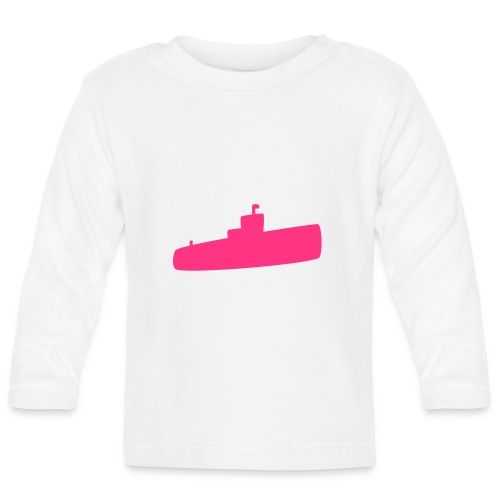 Rosa U-Boot - Baby Langarmshirt