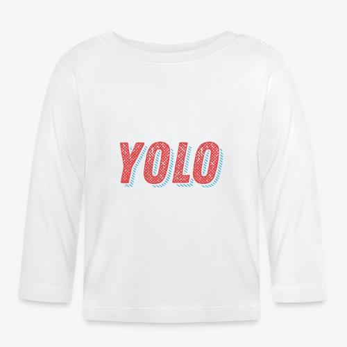 Yolo - Koszulka niemowlęca z długim rękawem