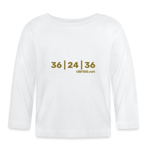 36 | 24 | 36 - UBI - Baby Long Sleeve T-Shirt