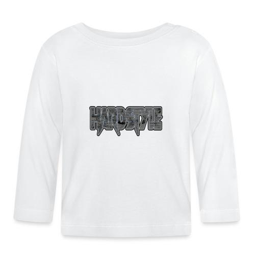 HARDSTYLE Sign Logo Text - Baby Langarmshirt
