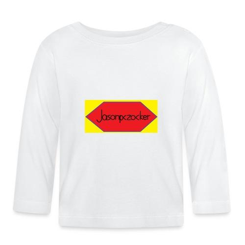 Jasonpczocker Design für gelbe Sachen - Baby Langarmshirt