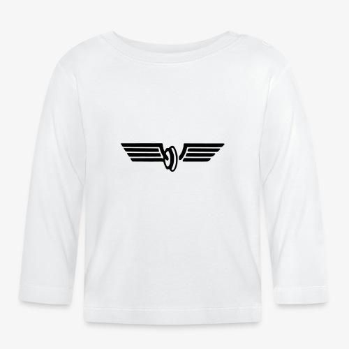 Flügelrad Wintermütze - Baby Langarmshirt