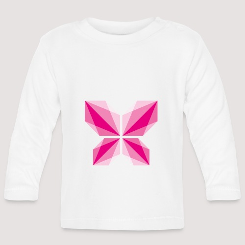 DDD Butterfly - Baby Langarmshirt