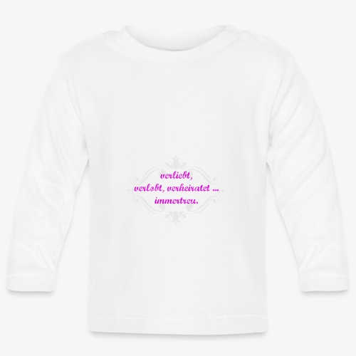 immertreu - Baby Langarmshirt