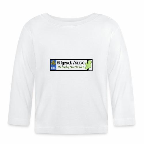 CO. SLIGO, IRELAND: licence plate tag style - Baby Long Sleeve T-Shirt