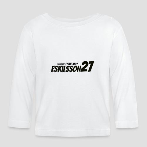 Eskilsson 27 sticker motive Black - Långärmad T-shirt baby