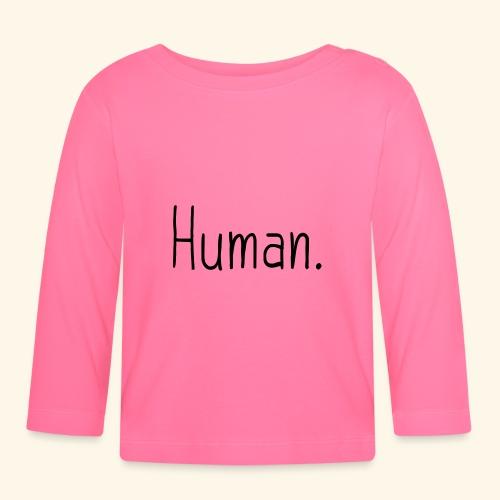 Mensch Human Menschenrecht Human-Rights - Baby Langarmshirt