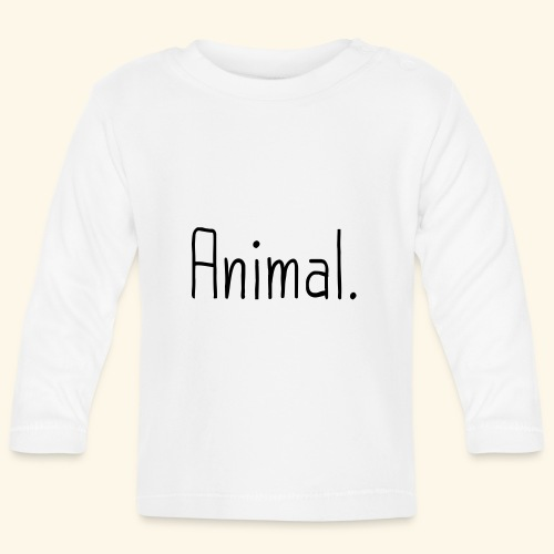 Tier Animal Tierliebe Tierschutz - Baby Langarmshirt