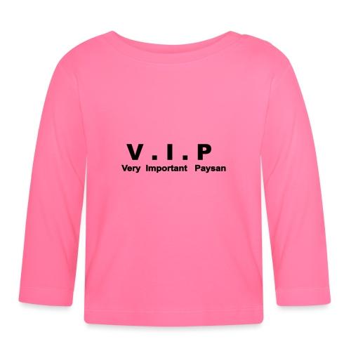 VIP - Very Important Paysan - T-shirt manches longues Bébé