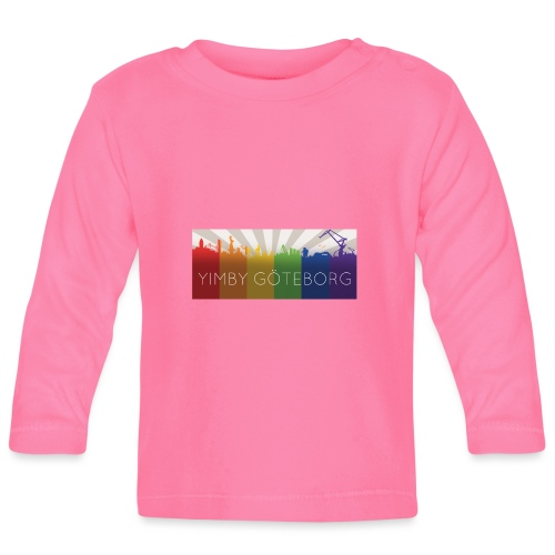 Yimby regnbågs-Tshirt - Långärmad T-shirt baby