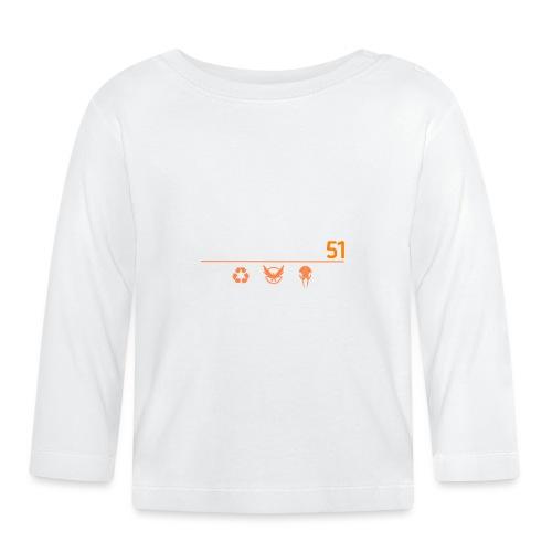 D51recy png - T-shirt manches longues Bébé
