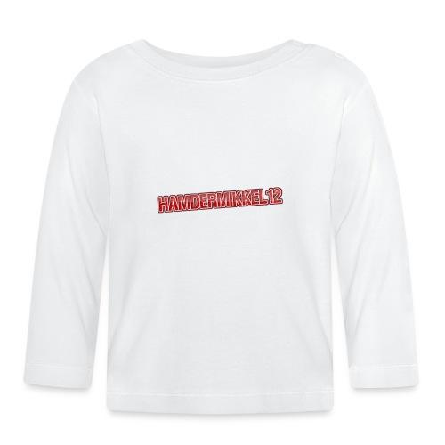 HamDerMikkel12 Text - Langærmet babyshirt