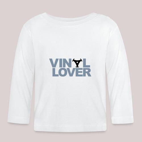 02-30-Vinyl Lover Musik DJ - Baby Langarmshirt
