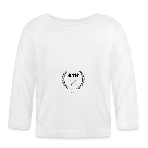 MSW logo - Baby Long Sleeve T-Shirt