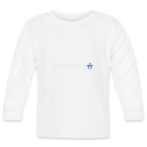 Mama's boy - Baby Long Sleeve T-Shirt