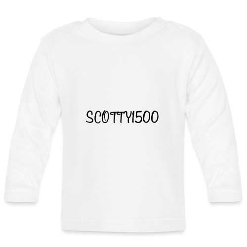 Scotty1500 Hat (Grey) - Baby Long Sleeve T-Shirt