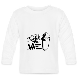 Yes We (spray)Can Graffiti handstyle tag - Baby Langarmshirt