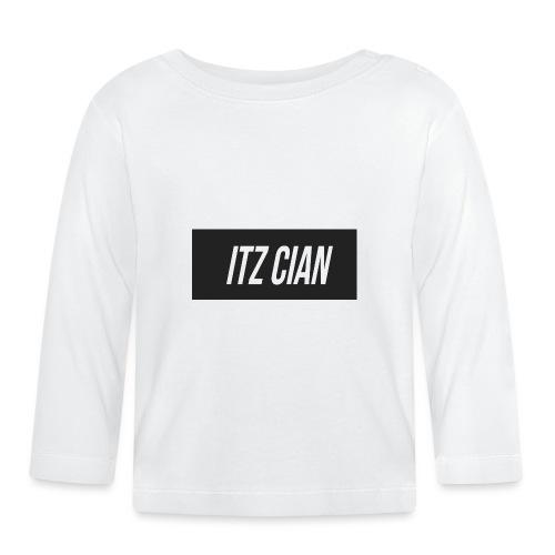 ITZ CIAN RECTANGLE - Baby Long Sleeve T-Shirt