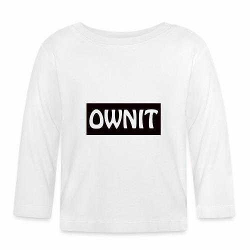 OWNIT logo - Baby Long Sleeve T-Shirt