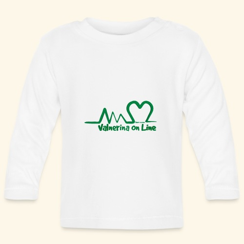 logo verde Associazione Valnerina On line - Maglietta a manica lunga per bambini