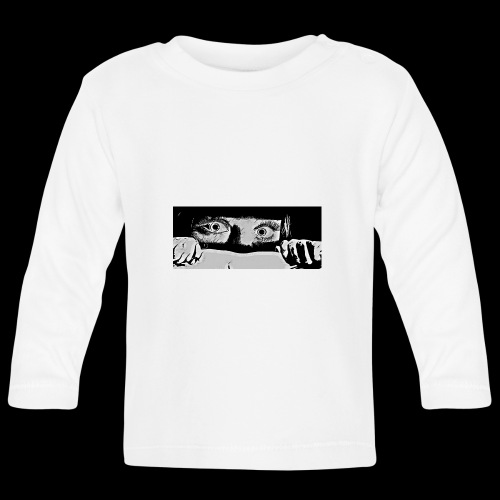 hiding from the b-movie - Baby Long Sleeve T-Shirt