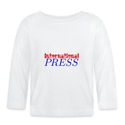 int_press-png - Maglietta a manica lunga per bambini
