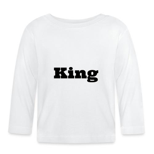 Snapback king rood/zwart - T-shirt
