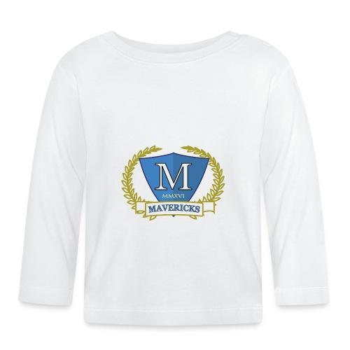 Mavericks_Club-_Stemma_3_T-shirt_3 - Maglietta a manica lunga per bambini