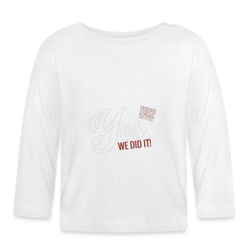 YES_1152w - Baby Langarmshirt