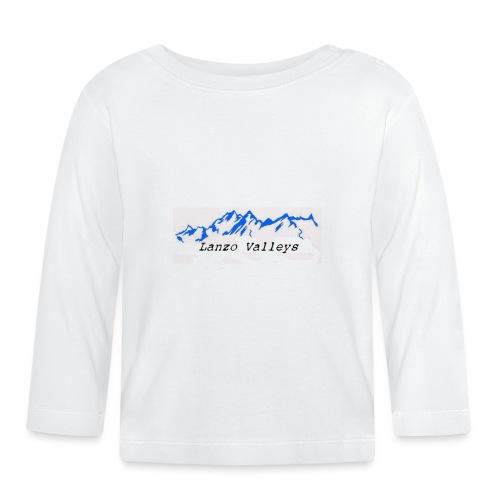 LanzoValley3Black - Maglietta a manica lunga per bambini