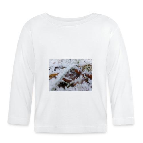Schneekristalle - Baby Langarmshirt