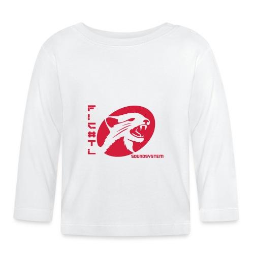 F!€#TL Soundsystem Rot - Baby Langarmshirt