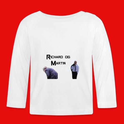samme motiv - Langarmet baby-T-skjorte
