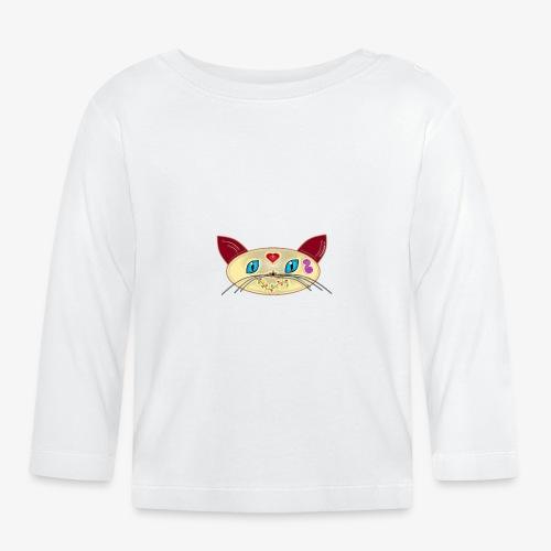 GATO PAOART - Camiseta manga larga bebé