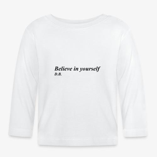 Credi in te stesso - Maglietta a manica lunga per bambini