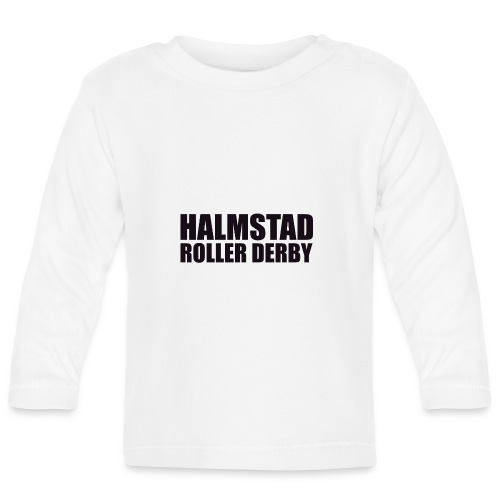 textlogga L - Långärmad T-shirt baby