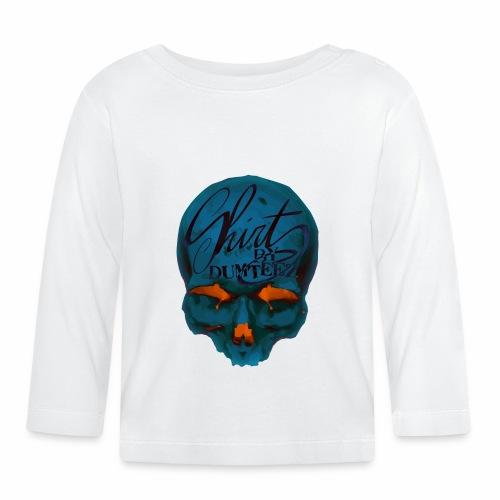 Dum Skull Orange glow - T-shirt