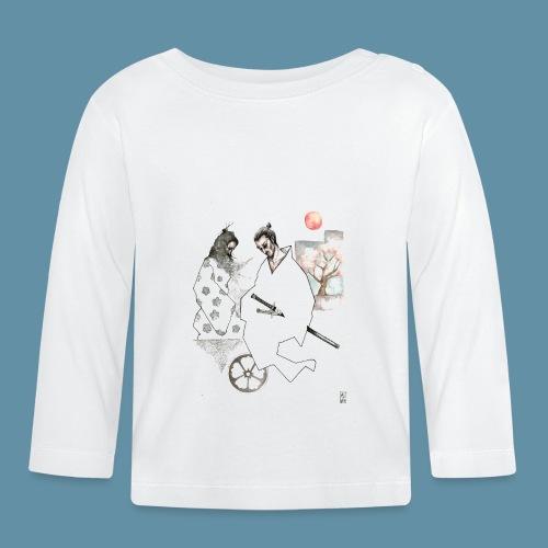Samurai copia jpg - Maglietta a manica lunga per bambini