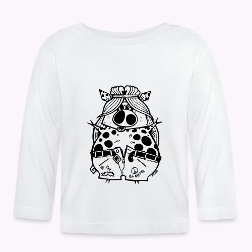 hippig - Maglietta a manica lunga per bambini