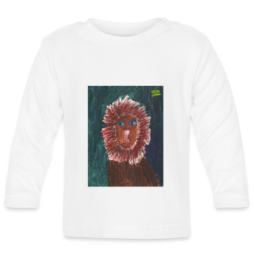 Lion T-Shirt By Isla - Baby Long Sleeve T-Shirt