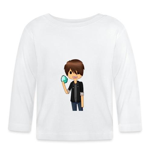 Minecraft Cartoon - Langærmet babyshirt